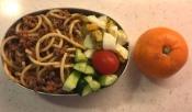 spaghetti bolognese bento