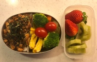 stir-fry chicken bento