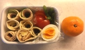 tortilla wrap bento