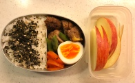 hamburg steak bento